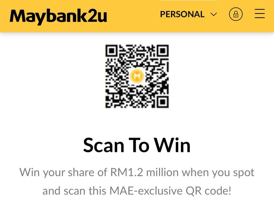 4 - Maybank QR code-Hệ Thống Thanh Toán QR Code Không Dùng Tiền Mặt Của Malaysia