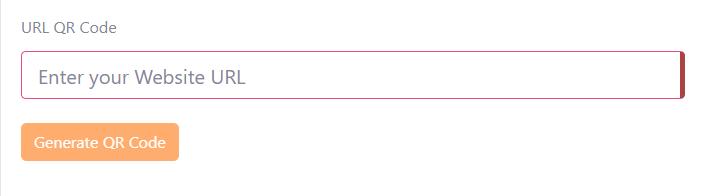 Nhập nội dung tương ứng của QR code vào ô nội dung